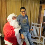 Pancakes with Santa- 2016 Greene w Santa 4