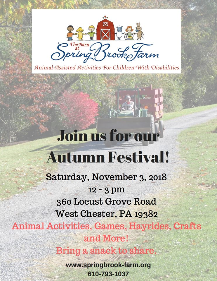 Autumn Festival Flyer 2018